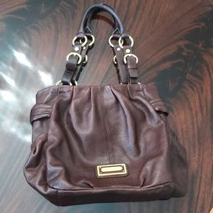 B. Makowsky Large Brown Tote in EUC